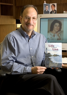 Rich with his Book Life Without Lisa