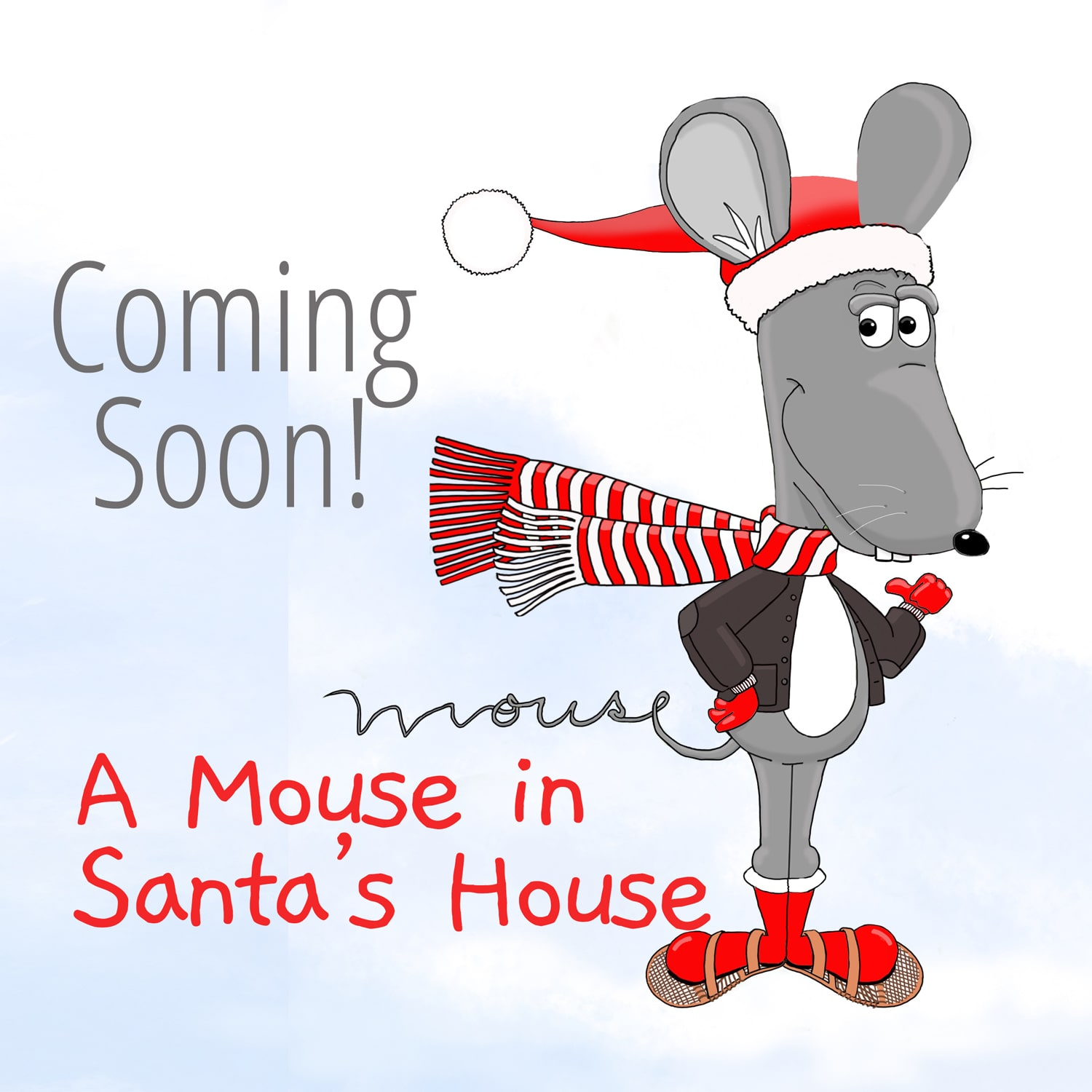 A Mouse In Santa's House by Richard Ballo