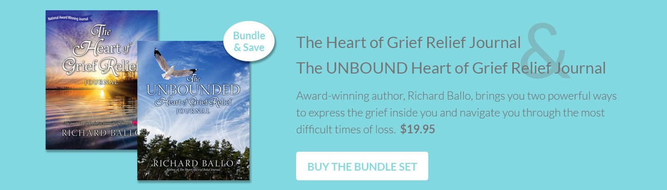 The Heart of Grief Journal Set by Richard Ballo